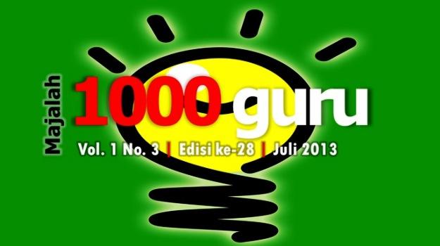 Majalah 1000guru Edisi Juli 2013