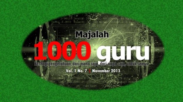 Majalah 1000guru Edisi November 2013 (+ KUIS!)