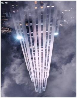 Rockefeller Center, New York. John D. Rockefeller adalah salah satu orang terkaya sepanjang catatan sejarah dunia.