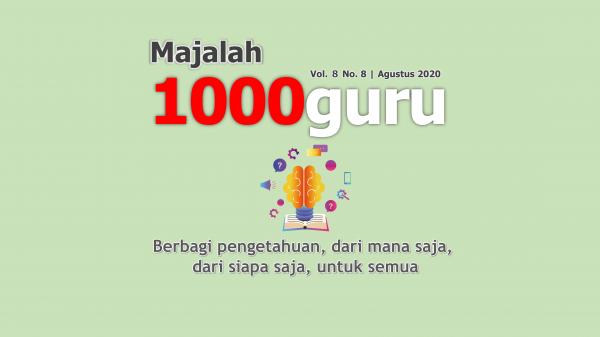 Majalah 1000guru Edisi ke-113 (Vol. 8 No. 8)