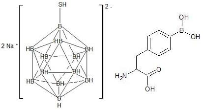 Struktur senyawa BSA (kiri) dan BPA (kanan).