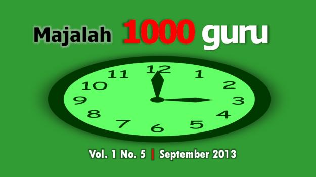 Majalah 1000guru Edisi September 2013
