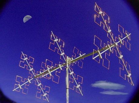 Antena fraktal.