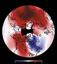 Dalam 30 tahun antara 1965-1995 telah terjadi peningkatan suhu Bumi sampai sekitar 6 derajat Celcius.