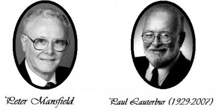 Peter Mansfield dan Paul Lauterbur memperoleh penghargaan nobel bidang kesehatan pada tahun 2003 untuk kontribusinya di bidang MRI. Sumber gambar: http://www.nobelprize.org/