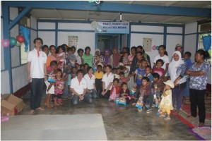 Home base doctorSHARE di pulau Kei besar, Therapeutic Feeding Center KAI.
