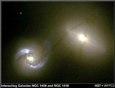 Apakah galaksi bisa dianggap seperti soliton pusaran air?