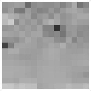 Blok-blok pixel penyusun gambar.