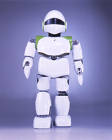 Kecerdasan buatan diterapkan pada robot.