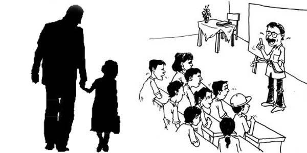 Ilustrasi hubungan anak, orang tua, dan guru. Sumber: http://yangmuda.com/