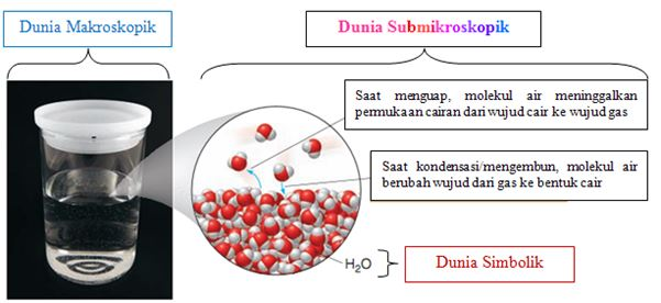 Proses penguapan air. Sumber: General, Organic, and Biological Chemistry (Smith, 2010).