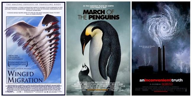 Contoh film dokumenter bertema sains yang sangat ternama dan berprestasi di dunia film internasional.