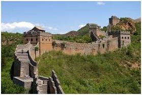 Tembok Besar Tiongkok. Sumber gambar: Wikipedia