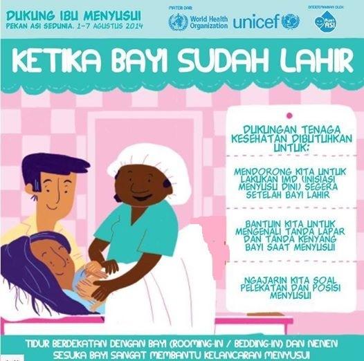 Dukungan tenaga kesehatan untuk ibu menyusui. Sumber gambar: https://dianramadhani.files.wordpress.com/