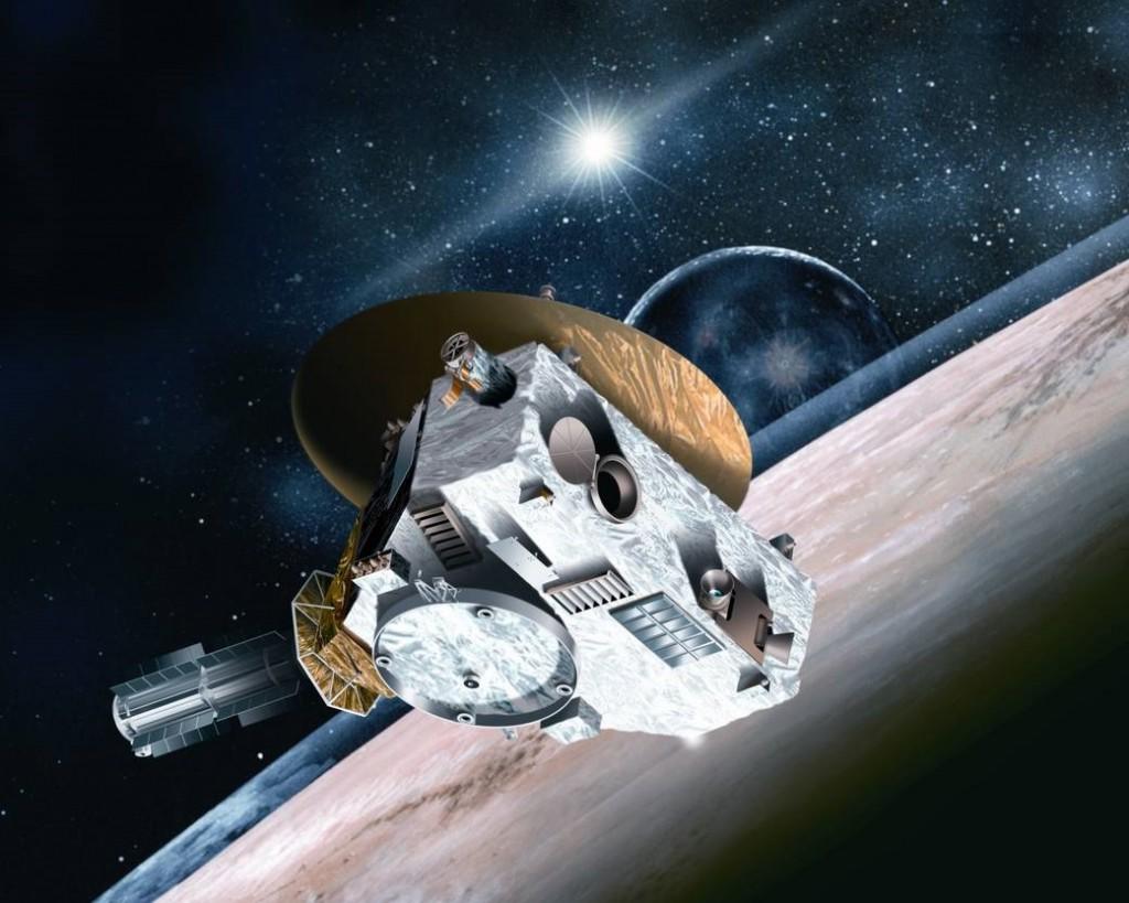 Misi New Horizons. Sumber gambar: NASA.
