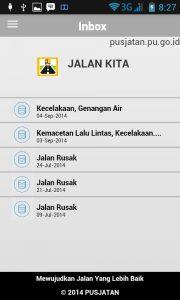 Aplikasi Jalan Kita (pusjatan.pu.go.id).
