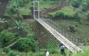 Jembatan hasil teknologi Judesa (kompas.com)