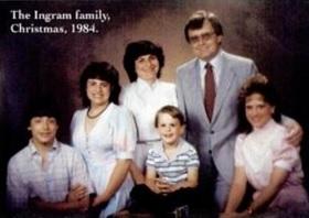 Keluarga Paul Ingram. Gambar dari Wall Street Journal.