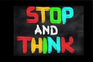 Kekuatan untuk Berhenti dan Berpikir