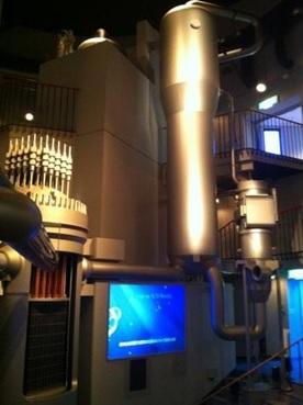 Teater yang juga sekaligus miniatur reaktor PWR.