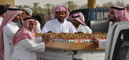 Festival kurma di buraydah, Arab Saudi.