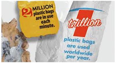 Kampanye menghindari penggunaan kantong plastik (sumber gambar: http://newswatch.nationalgeographic.com/tag/infographics/).