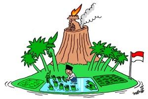 Persebaran Barang Tambang di Indonesia dan Proses Geomorfik