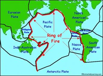 Cincin Berapi Pasifik.