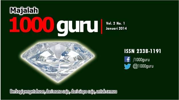 Majalah 1000guru Edisi Januari 2014 (+ KUIS!)