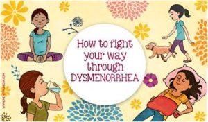Ilustrasi tips menghadapi dismenore. Sumber: menstrupedia.com.