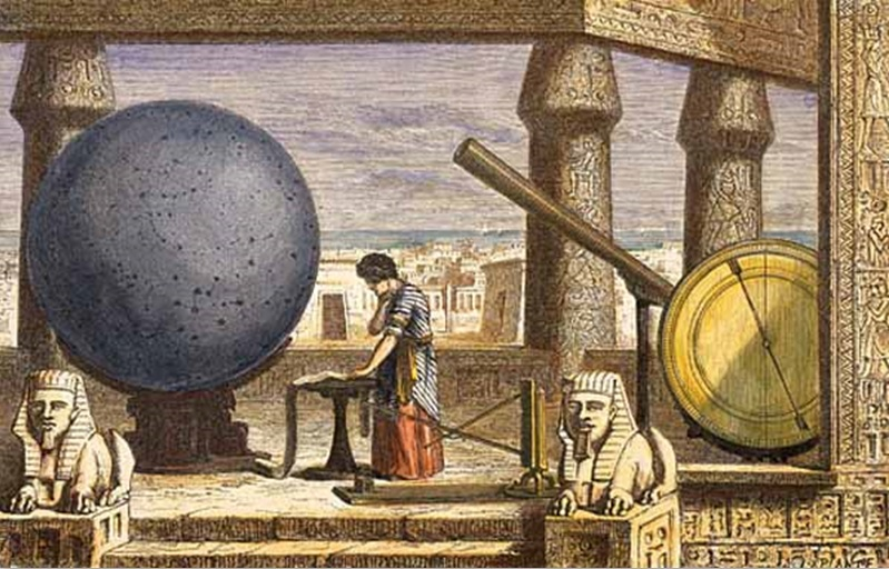 Astronomi dan Kosmologi Mesir.